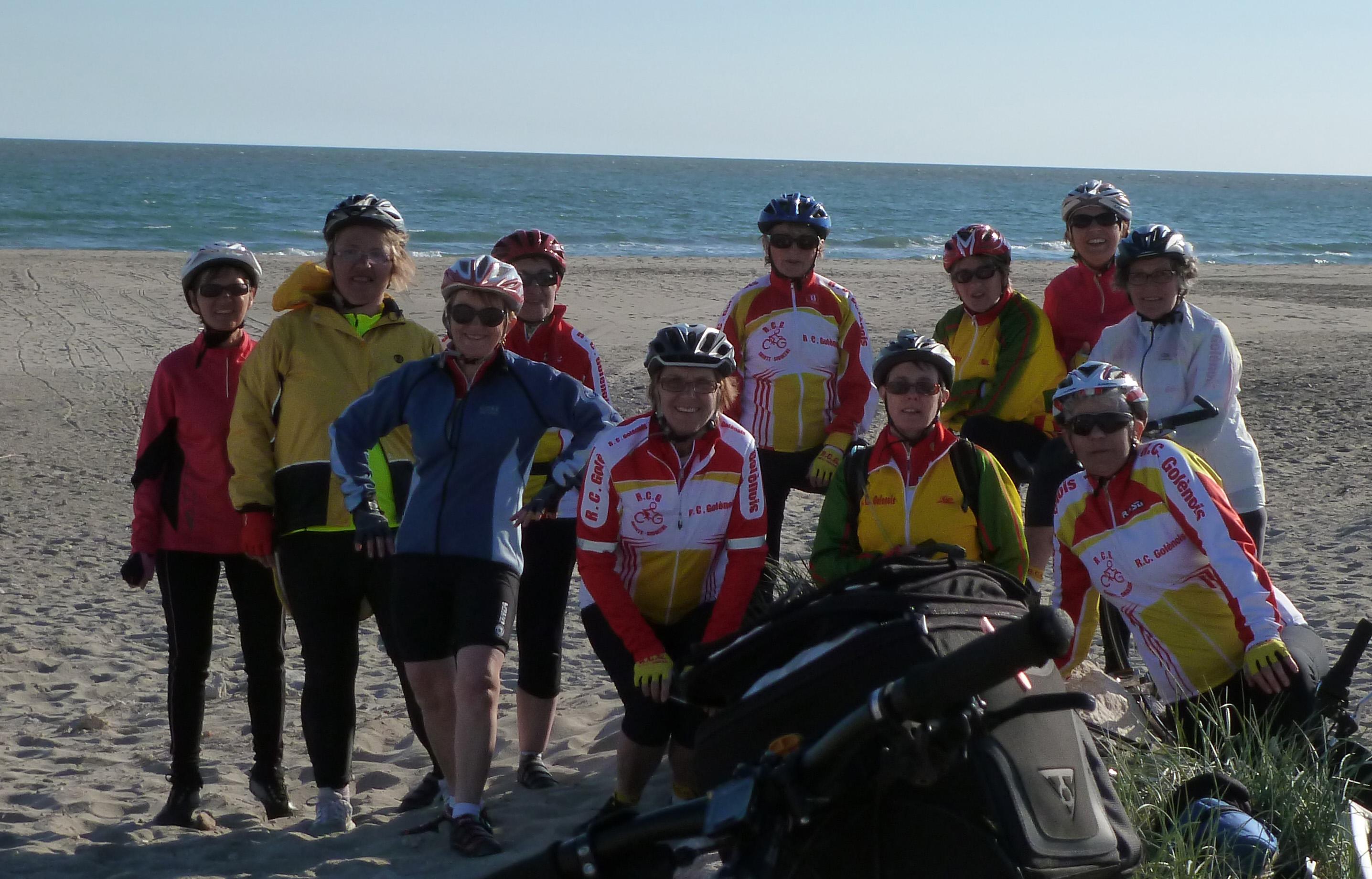les cyclotes des randonneurs cyclotouristes golenois