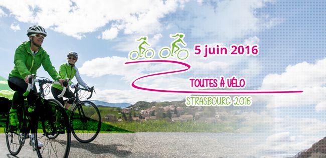 Partagez votre expérience Toutes à Vélo – Strasbourg 2016  sur les réseaux sociaux !