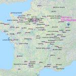 carte des voyages itinérants
