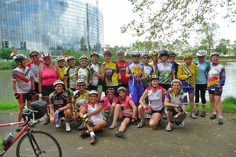 L'édition Toutes à vélo – Strasbourg 2016 des Vendéennes